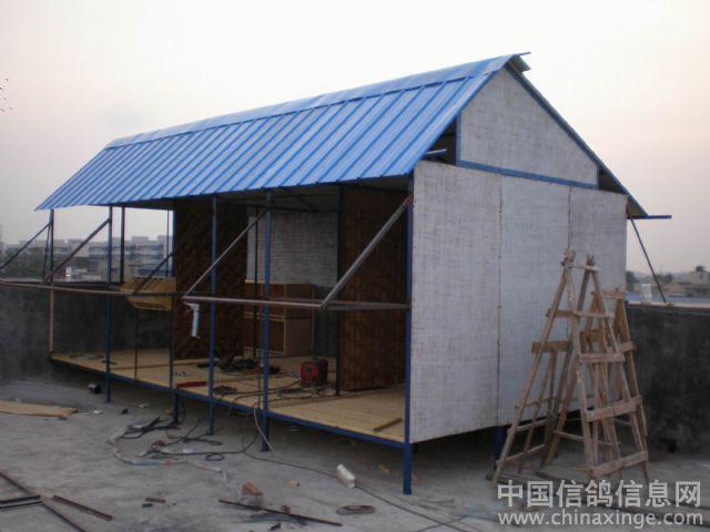 农村房顶钢结构设计图
