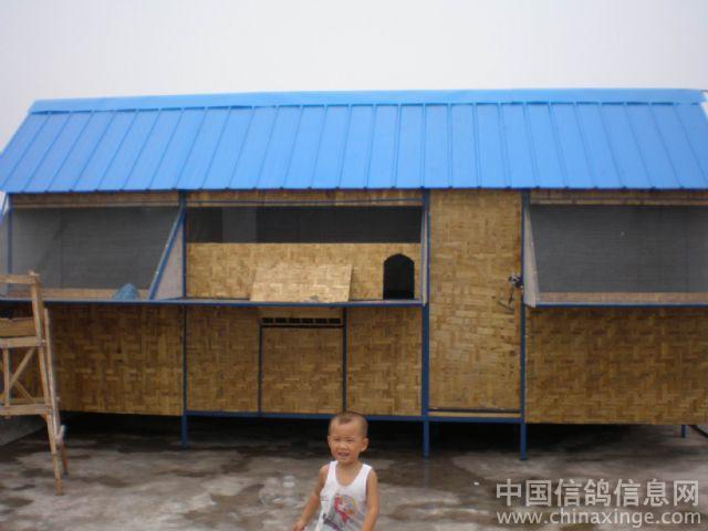 农村彩钢房顶结构图