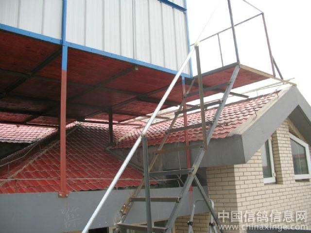 房顶钢结构楼梯