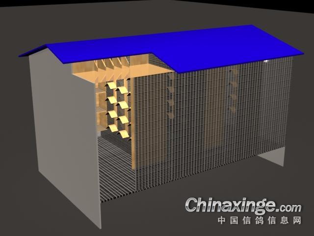 鸽棚设计图_新设计的鸽棚--中国信鸽信息网相册