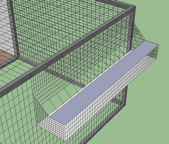 电脑设计的鸽舍平面图