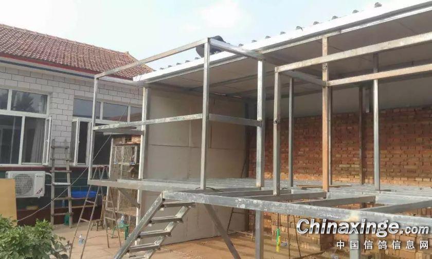 新建造的鸽舍